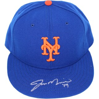 Jon Niese Signed Blue New York Mets Hat ( MLB Auth) Size: 7 1/4