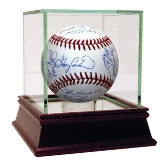 1986 New York Mets Team Signed MLB Baseball w/ Gary Carter (24 Sigs)