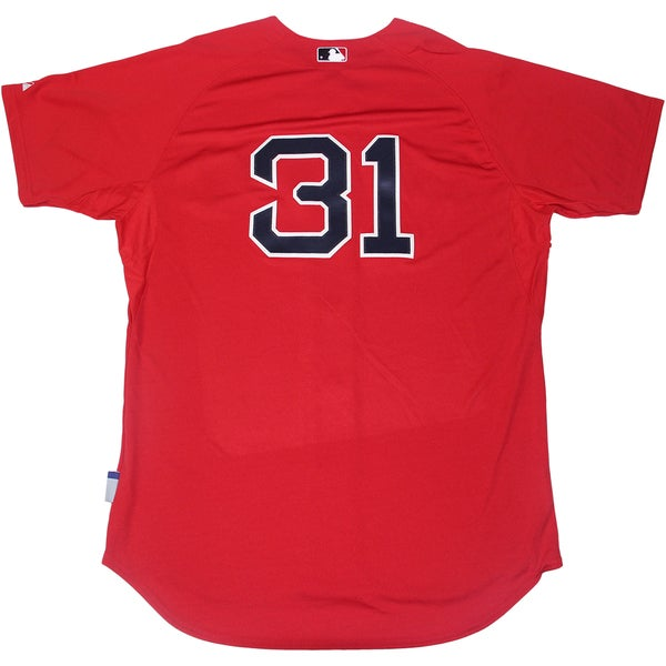promo code 3ef14 f40ba Jon Lester Boston Red Sox Authentic Cool Flow #31 Scarlett Jersey (Sz 48)
