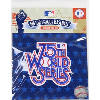 1978 World Series Patch-75th World Series