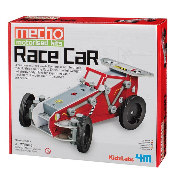 4M KidzLabs Race Car Mecho Motorized Science Kit