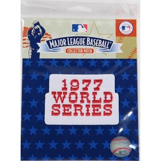 1977 World Series Patch