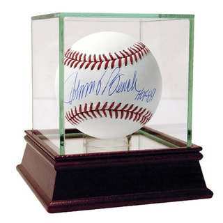 "Johnny Bench Signed MLB Baseball w/ ""HOF 89"" Insc."