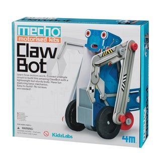 4M KidzLabs Claw Bot Mecho Motorized Science Kit