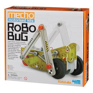 4M KidzLabs Robo Bug Mecho Motorized Science Kit