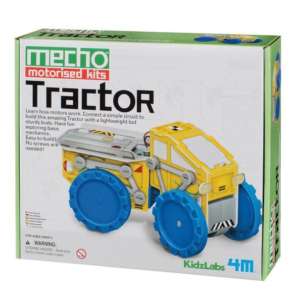 4M KidzLabs Tractor Mecho Motorized Science Kit
