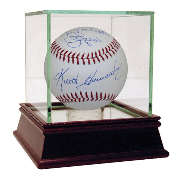 "John Franco & Keith Hernandez Dual Signed MLB Baseball w/ ""N.Y.M Captain"" Insc. (Inscribed by Franco)"