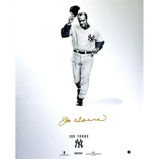 Joe Torre Signed Steiner Platinum Collection 16x20 Photo