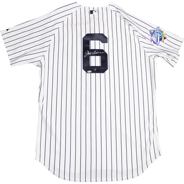 Joe Torre Signed New York Yankees Authentic Pinstripe Jersey w/ 1998 Patch ( MLB Auth)