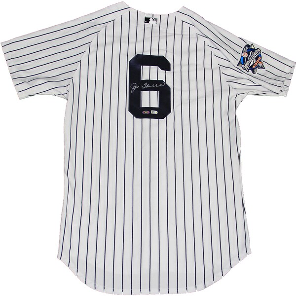 Joe Torre Signed 2000 World Series New York Yankees Authentic Home Jersey(MLB Auth)