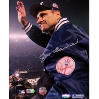 Joe Torre 2000 WS  Carry Off Vertical 16X20 photo (MLB Auth)