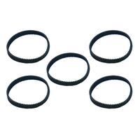 5pk Replacement 10mm Vacuum Belts, Fits Dyson DC17, Compatible with Part 911710-01