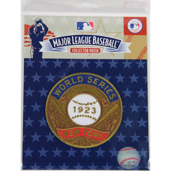 1923 World Series Patch-New York Yankees