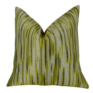 Plutus Pinceaux Handmade Double-sided Throw Pillow