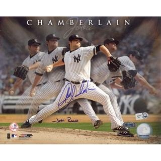 Joba Chamberlain Multi Exposure 8x10 Photo w/ Joba Rules Insc. (MLB Auth)