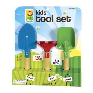Toysmith Kid's 3-Piece Garden Hand Tool Set