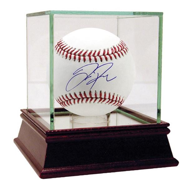 Joc Pederson Signed Baseball
