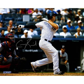 Greg Bird Signed 1st MLB Homerun 16x20 Photo ( MLB Auth)