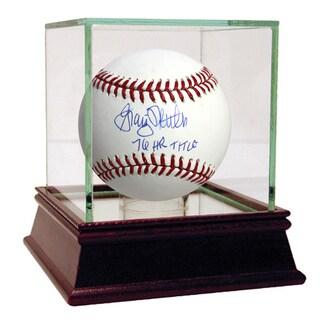 """Graig Nettles Signed MLB Baseball w/ """"76 HR Title"""" insc"""