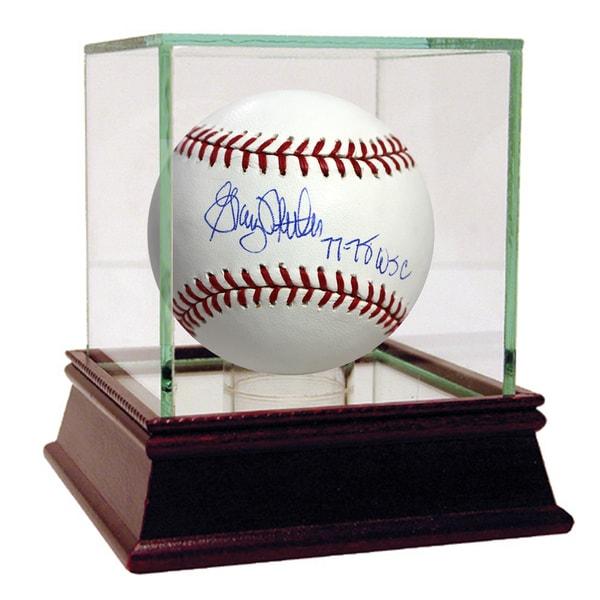 """Graig Nettles MLB Baseball w/ """"77-78 WSC"""" Insc."""