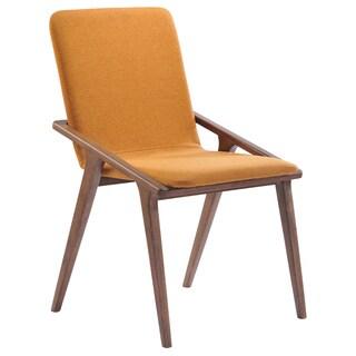 Modrest Zeppelin Modern Orange Dining Chair (Set of 2)