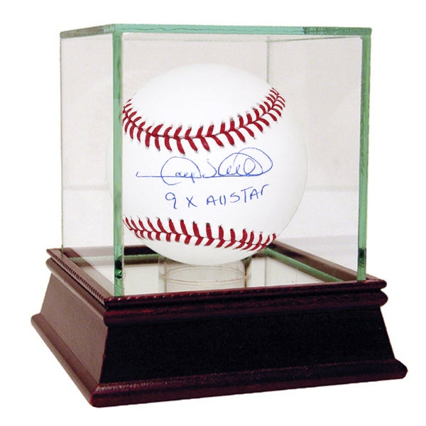 "Gary Sheffield Signed MLB Baseball w/ ""9x All Star"" insc"