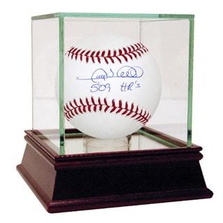 "Gary Sheffield Signed MLB Baseball w/ ""509 HR's"" Insc."
