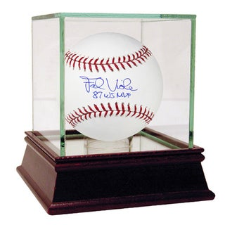 Frank Viola Signed MLB Baseball w/ 87 WS MVP Insc