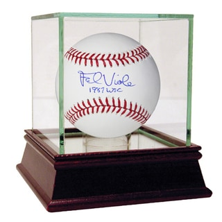 Frank Viola Signed MLB Baseball w/ 1987 WSC Insc