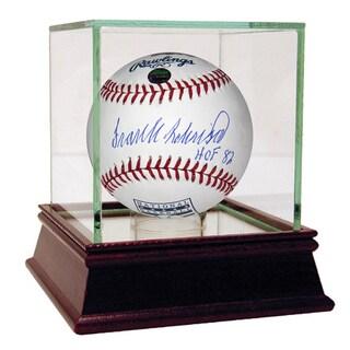 Frank Robinson Signed MLB Hall of Fame Logo Baseball w/ HOF 82 Insc (MLB Auth)