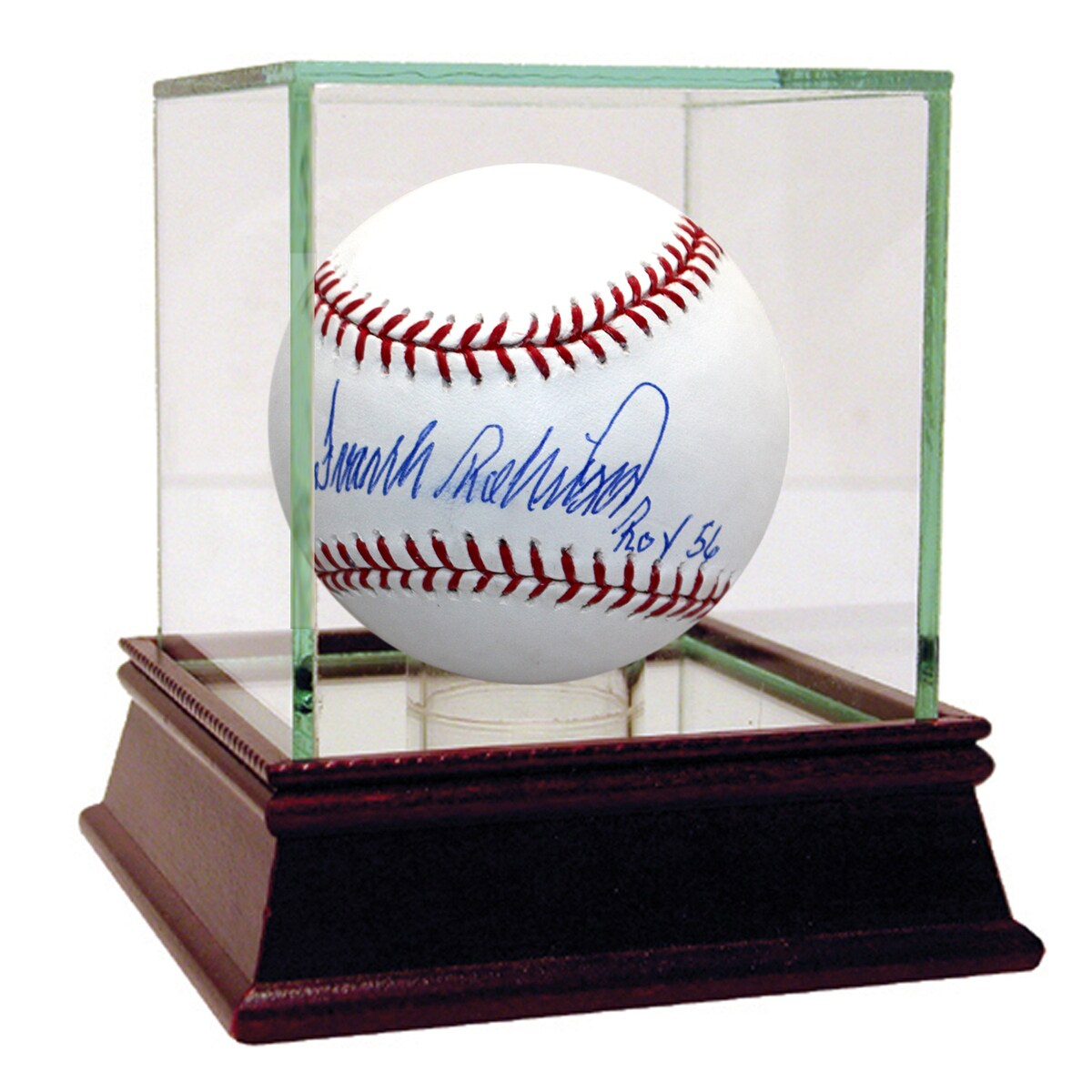 "Steiner Frank Robinson Signed MLB Baseball w/ ""roy 56"" in..."