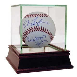 "Ed Figueroa Autographed Baseball w/ ""Steinbrenner Yankee"" Inscription"