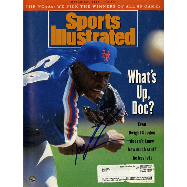 Dwight 'Doc' Gooden Signed 3/22/93 Sports Illustrated Magazine