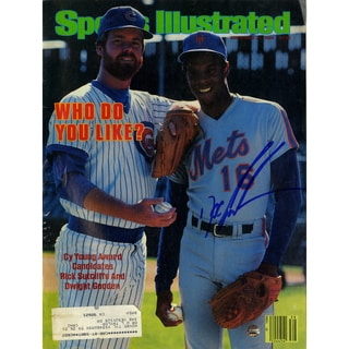 Dwight 'Doc' Gooden Signed 9/24/84 Sports Illustrated Magazine