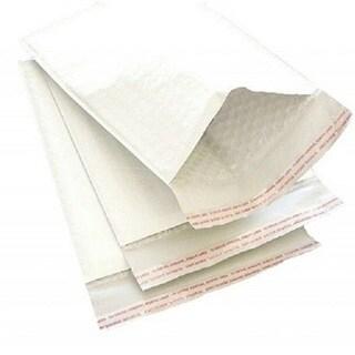 10500 #000 5-inch x 10-inch White Kraft Bubble Mailer Padded Envelopes