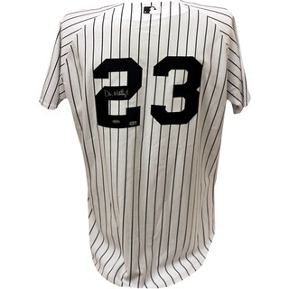 Don Mattingly Signed Pinstripe Yankees Jersey (MLB Auth)