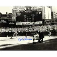 Don Larsen Signed PG First Pitch 20x24