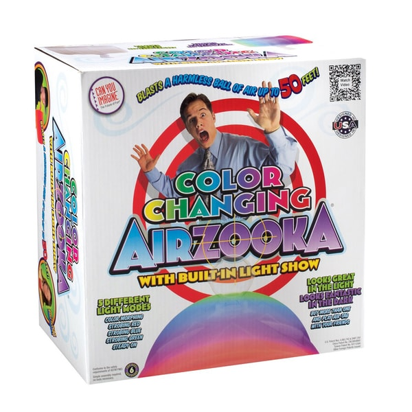Can You Imagine Color Changing Airzooka Air Shooter