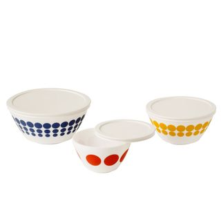 Vintage Charm Spot On 6-piece Mixing Bowl Set