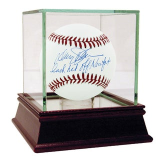 "Davey Johnson Signed MLB Baseball w/ ""Last Hit Off Koufax"" insc (MLB Auth)"
