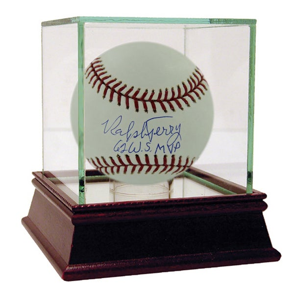 "Ralph Terry MLB Baseball w/ ""62 WS MVP"" Insc. (MLB Auth)"