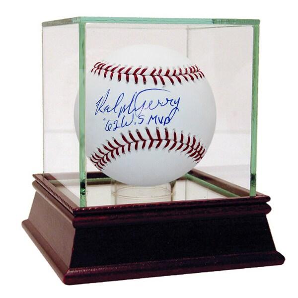 "Ralph Terry MLB Baseball w/ ""62 WS MVP"" Insc"