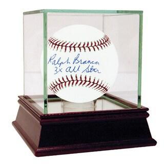 "Ralph Branca Signed MLB Baseball w/ ""3x All Star"" insc"