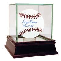 "Ralph Branca Signed MLB Baseball w/ ""1944-1953"" insc"