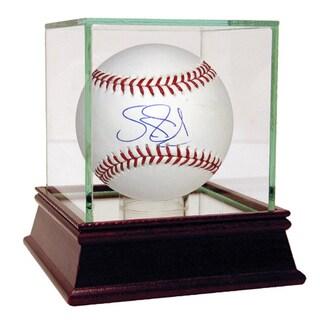 Darryl Strawberry Signed OMLB Baseball