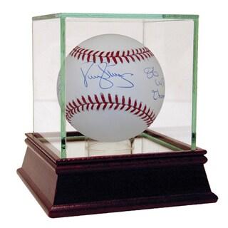 "Darryl Strawberry Signed MLB Baseball w/ ""83 ROY, 86 W.S. Champs"" Insc."