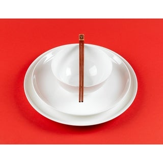 Pure Vanilla Coupe 9.75-inch Dinner Plates (Set of 4)