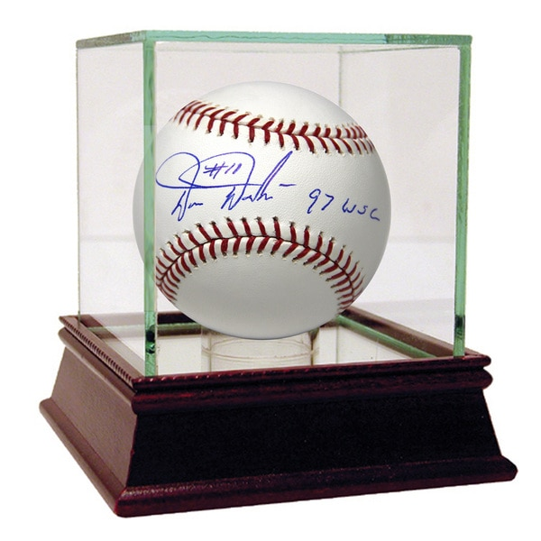 Darren Daulton Signed MLB Baseball w/ 97 WSC Insc