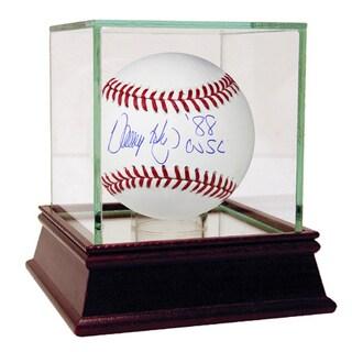 """Danny Heep Signed MLB Baseball w/ """"88 WSC"""" Insc"""