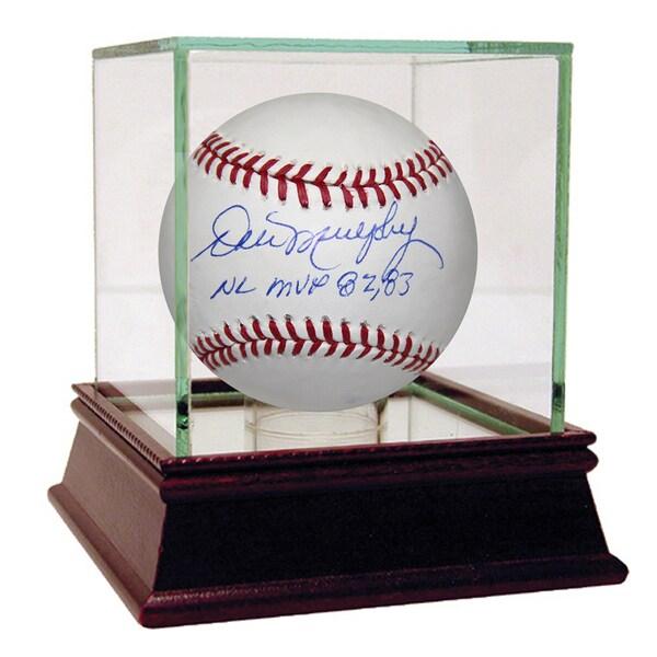 "Dale Murphy Signed MLB Baseball w/ ""NL MVP 82, 83"" Insc (MLB Auth)"
